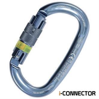Kong Ovalone Twist Lock NFC Titanium