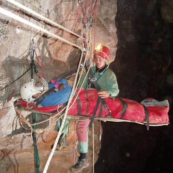 Cave stretcher - 8