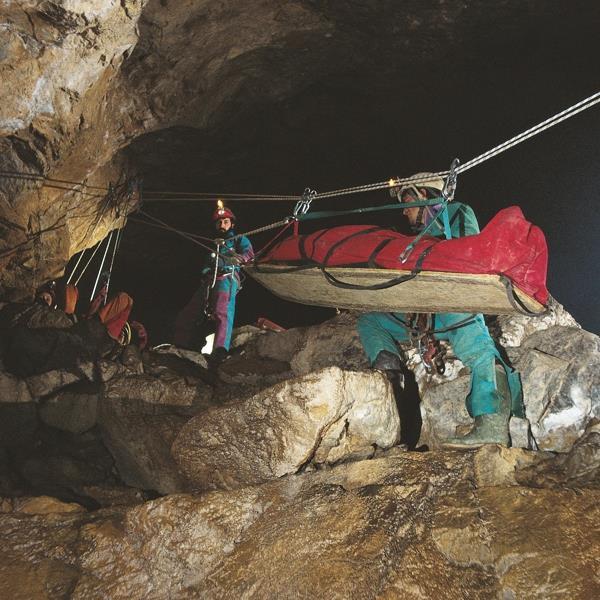 Cave stretcher - 7
