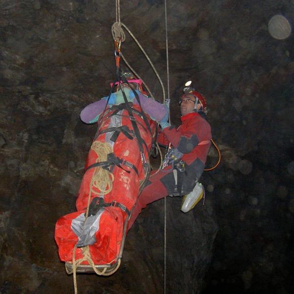 Cave stretcher - 5